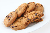 Plate of cookies — Stock Photo
