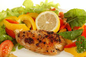 Lemon pepper Chicken breast — Stock Photo