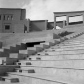 Qatari amphitheatre — Stock Photo