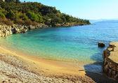 Nissaki beach, Corfu — Stock Photo