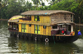 Kerala riverboat — Stock Photo