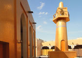 Golden mosque, Qatar — Stock Photo