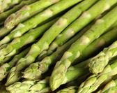 Asparagus spears group — Stock Photo