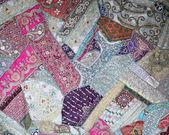 Ethnic patchwork background — Stock Photo