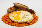 British breakfast — Stock Photo