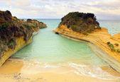 Sidari 'canal d'amour' beach — Stock Photo