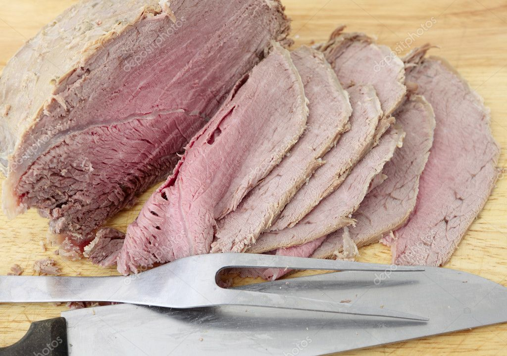 how to cut beef super thin