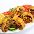 Thai or chinese spring rolls — Stock Photo