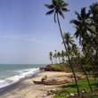 Kerala beach — Stock Photo