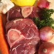 Ossobuco ingredients - Photo