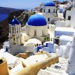 Churches on Santorini - Stock Photo