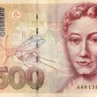 Stock Photo: Five hundred deutsche mark note