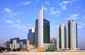 Business tower New District of Doha — Stock Photo
