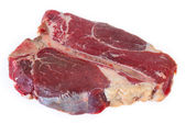 T-bone steak at an angle — Stock Photo
