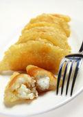 Ramadan pancakes vertical — Stock Photo