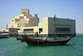 A traditional Arab dhow — Stock Photo
