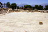 Central courtyard Phaistos Crete — Stock Photo