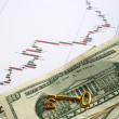 Forex key to trading wealth - Stock Photo
