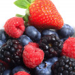 Pile of berry fruits — Stock Photo