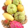 Tropical fruits from above — Stock Photo #7054002