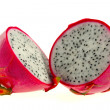 Dragon fruit isolated on white — Stock Photo