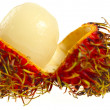 Rambutan opened - Stockfoto