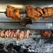Taverna charcoal grill - Stock Photo