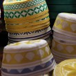 Stock Photo: Prayer hats in Souq Waqif, Doha