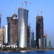 Doha construction boom — Stock Photo #7055499