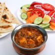 Kadai paneer curry - Stock Photo