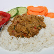 Stock Photo: Mutton mughlai curry