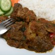 Mutton vindaloo curry — Stock Photo