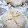 Soda bread dough — Stock Photo