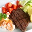 Surf and turf meal — Stock Photo #7057302