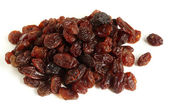 A heap of raisins for baking — Stock Photo