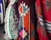 Arab traditional textiles — Stock Photo