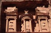 Detail from Petra's Treasury — Stock Photo