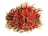 Rambutan macro — Stock Photo