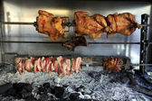 Taverna charcoal grill — Stock Photo