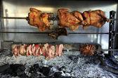Taverna charcoal grill — Stock Photo