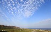 Falasarna plain and sky — Stock Photo