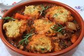 Traditional British stew — Stock Photo