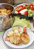 Vegetarian bake — Stock Photo