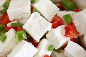 Feta and capsicum salad — Stock Photo
