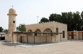 Traditional Arab Gulf village mosque — Stock Photo