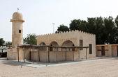 Traditional Arab Gulf village mosque — Stock Photo