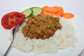 Mutton mughlai curry — Stock Photo