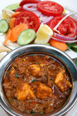 Kadai paneer curry — Stock Photo