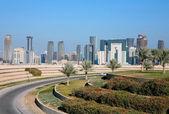Doha skyline — Stock Photo