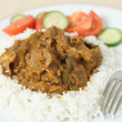 Lamb rogan josh horizontal - Stock Photo